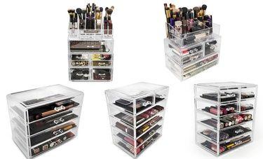 Sorbus Makeup-Organizer Set