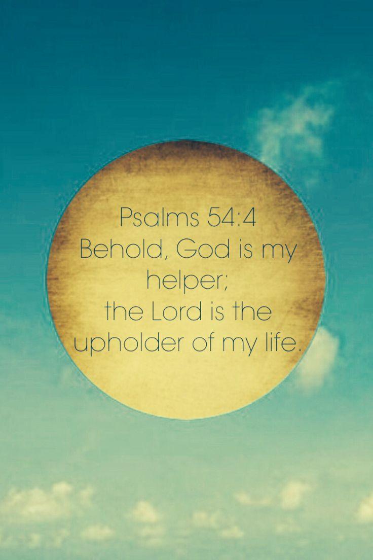 Psalms 54:4