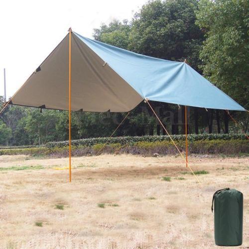 9-8-x-10-5-039-Military-Anti-UV-Waterproof-Tarp-Awning-Camping-Tent-Fishing-Shelter