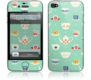 tea pots: Iphone Cases, 4 4S Skins, Iphone 4S, Gelaskins Iphone, Iphone 4 4S, Iphone Gelaskins, Happy Dishes, Protective Skin, Products