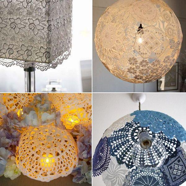 25 mejores im genes de lamparas en pinterest candelabros - Lamparas originales recicladas ...