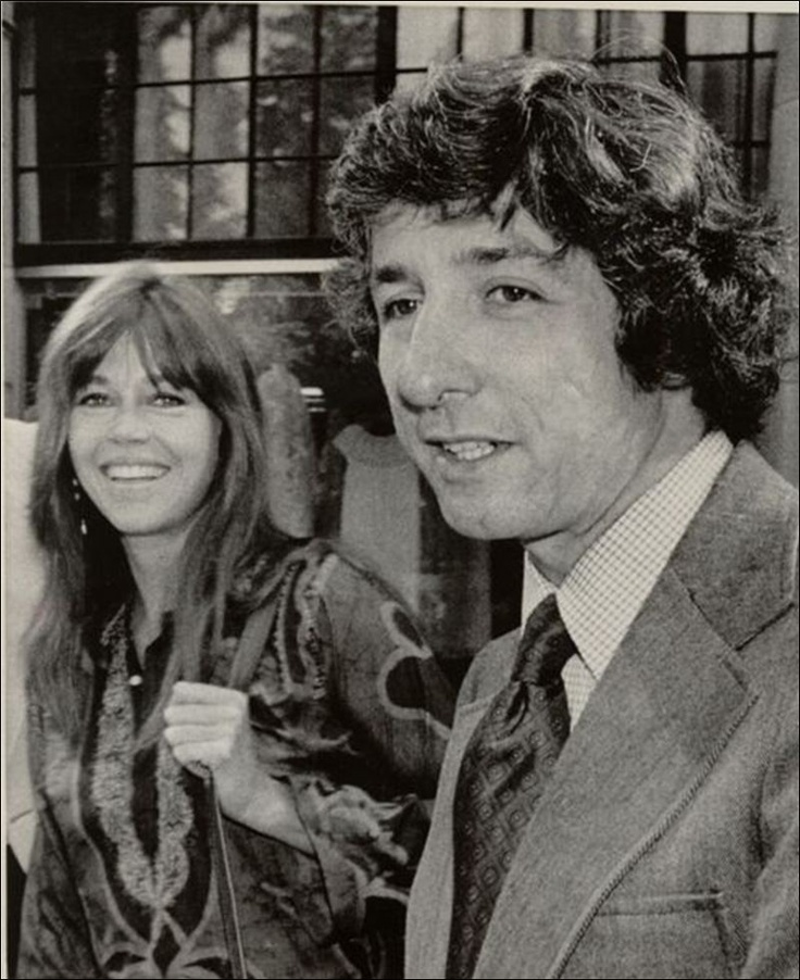 1973 - Jane Fonda marries Tom Haden, a then activist and part of the Chicago Seven (charged with conspiracy, inciting to riot, and other charges related to protests that took place in Chicago, Illinois on the occasion of the 1968 Democratic National Convention). They have a son in '73 named Troy. Divorced in 1989