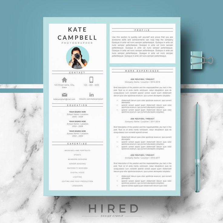 19 best minimalist resume    cv templates images on