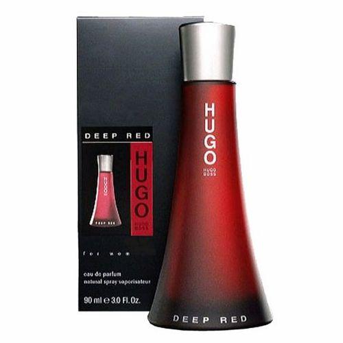 Hugo Deep Red by Hugo Boss, 3 oz Eau De Parfum Spray for women