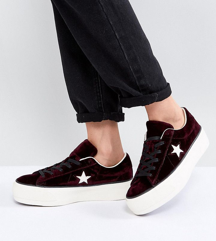 converse one star donna nere