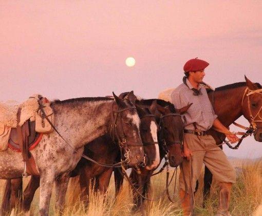gaucho sunset | estancia los potreros | argentina