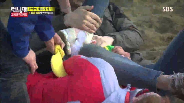 running man yoo jae suk man's pain 150406