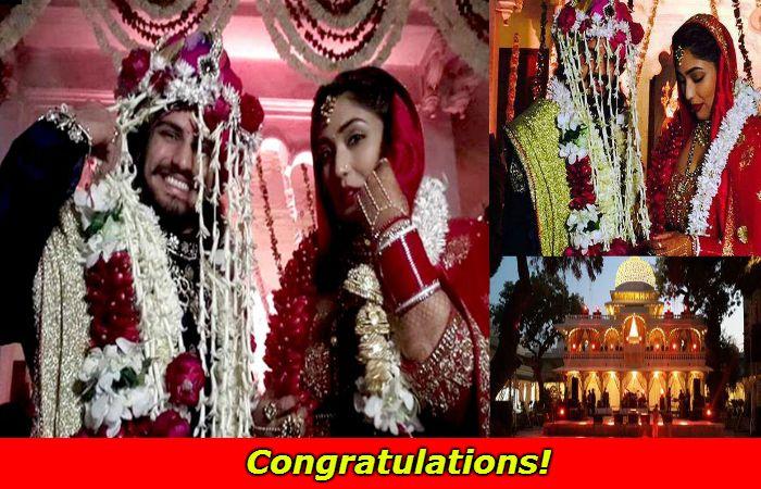 #JodhaAkbar 's Rajat Tokas and Shrishti Nayyar's Royal Wedding ♥♥  Watch Here: -http://www.nyoozflix.com/jodha-akbar-rajat-tokas-royal-wedding/  #BollywoodCelebrityNews   #Entertainment