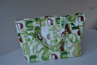 Iedereen kan een tas als deze gebruiken. En als ik de moeilijkheidsgraad moet beoordelen, dan geef ik het één schaartje. Gemakkelijk dus! ...