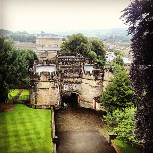 Skipton Castle in North Yorkshire is over 900 years old. It is one of the most complete and best preserved medieval castles in England. http://www.skiptoncastle.co.uk/
