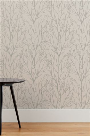 Buy Twigs Wallpaper from the Next UK online shop