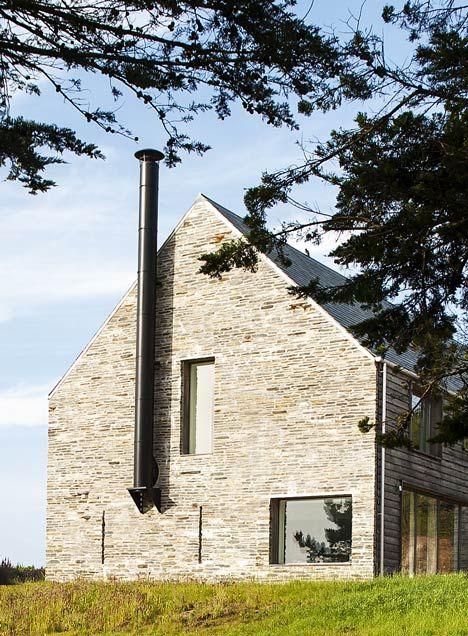 Mortehoe House by McLean Quinlan Architects on the Devon coastline in south-west England.
