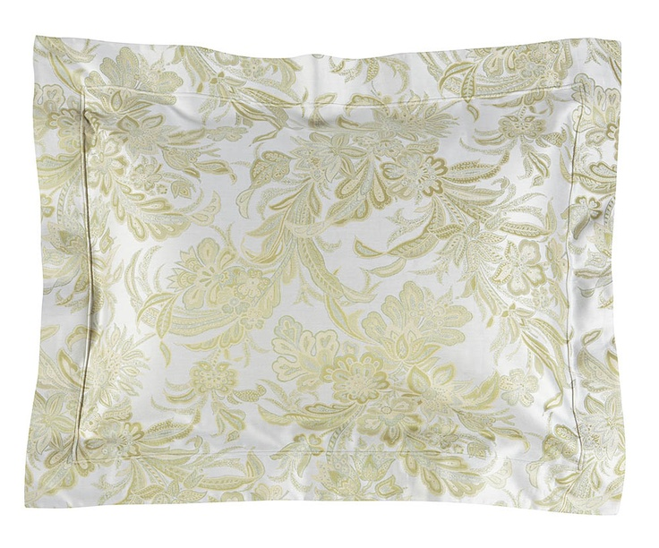 A jacquard for Spring - Angelico is a yarn-dyed jacquard with a luminous floral pattern in Celadon.