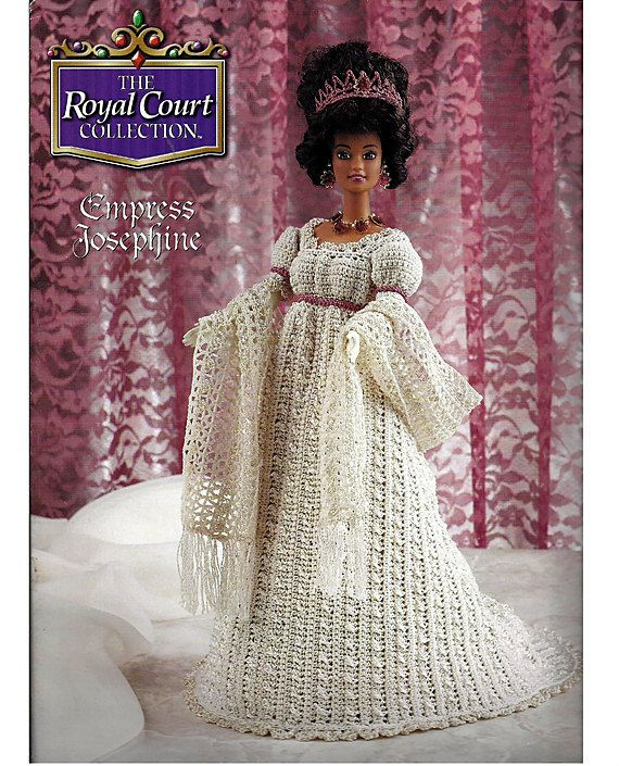 annie's attic royal court collection | ... The Royal Court Collection Fashion Doll Crochet Pattern Annies Attic