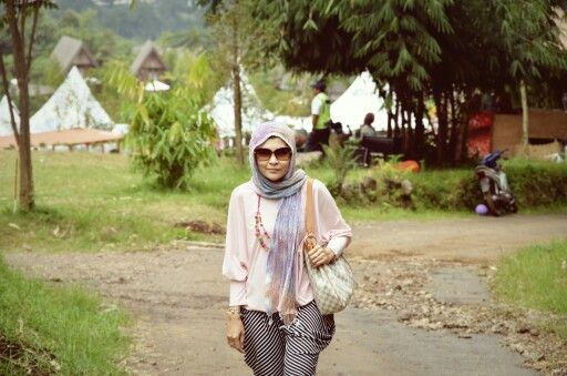 Beautiful Hijab, Model : Tina Kayla