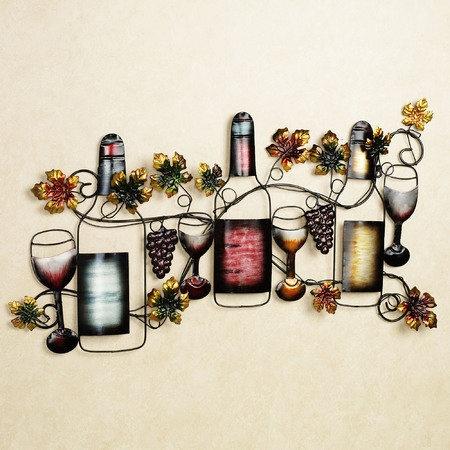 Wine Tasting Metal Wall Art Grape Decor Wine Wall Art Vineyard Decor
