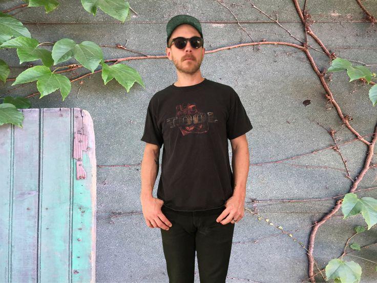 Rare! 90's TOOL Tee Shirt - Vintage Band T-Shirt - Tool Human Heart UNDERTOW Shirt