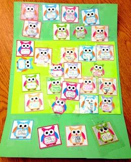 Classroom Freebies: Owl Label Templates