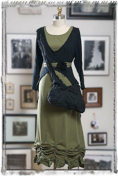 Ivey Abitz-love the skirt hem
