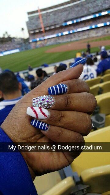 #Dodgers #nails
