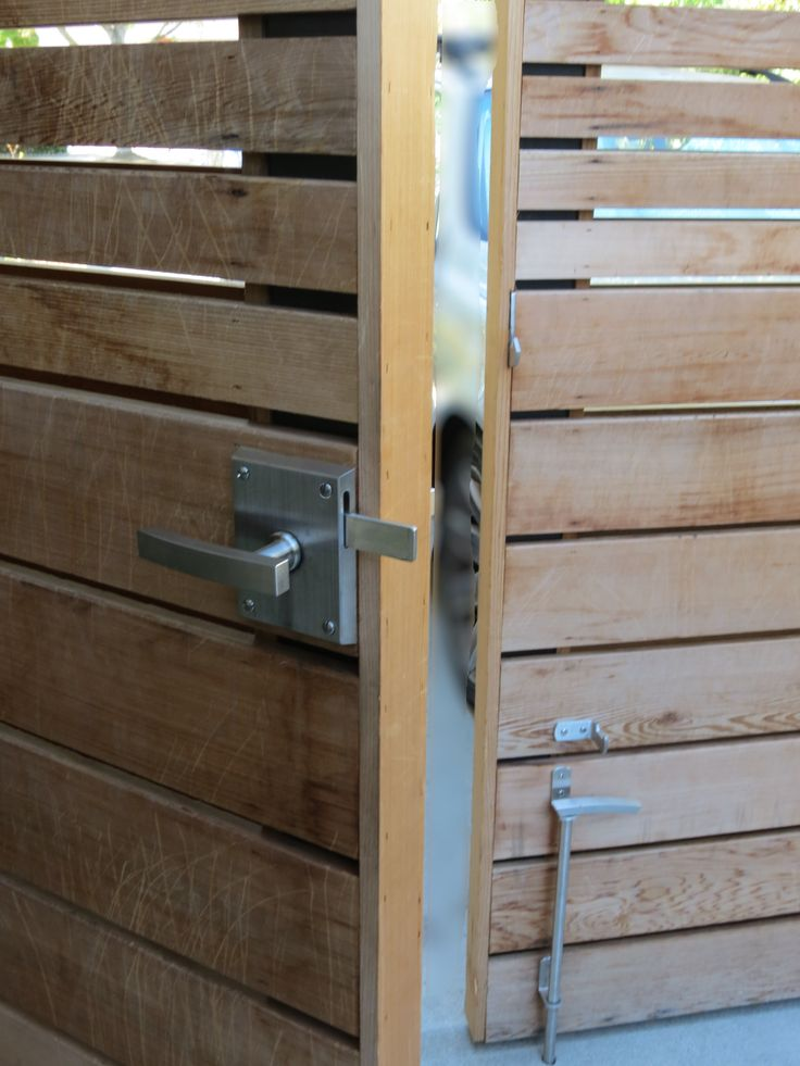 44 best how to build a block wall images on pinterest for Driveway gate lock