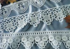 Braid fringe and crochet