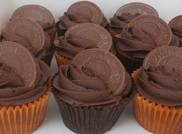 terry's chocolate orange cupcakes YES YES YES