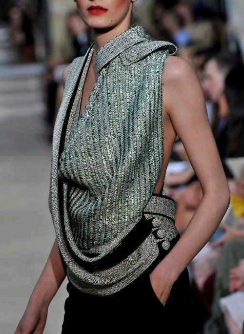 knitted runway fashion ♥✤ | Keep the Glamour | BeStayBeautiful