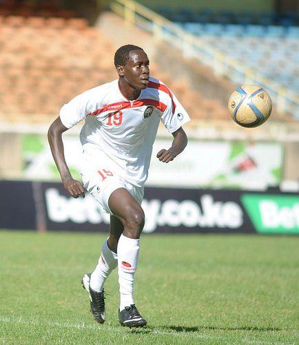 Harambee Stars defender Okumu Joseph | by shengol
