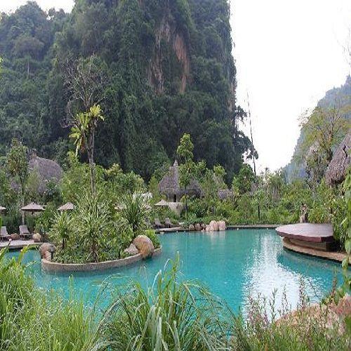 Banjaran Hot Springs - Ipoh, Malasya.