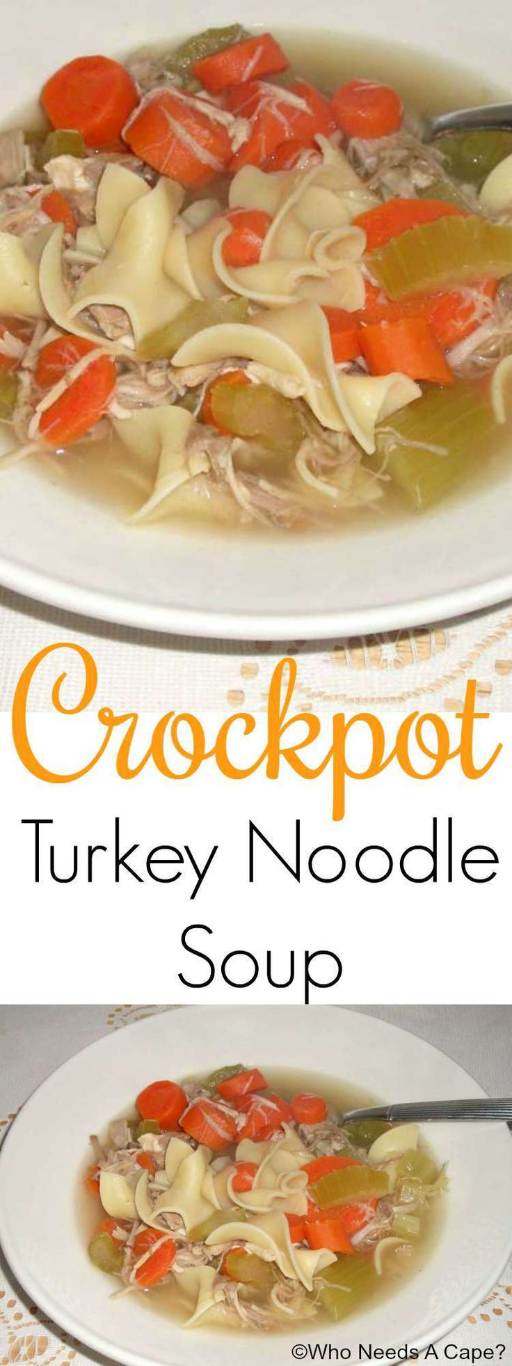 Turkey soup with pasta recipe