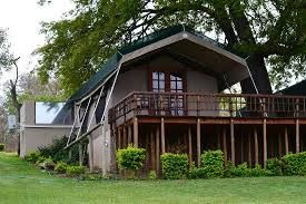 Sabie River Bush Lodge Tents.