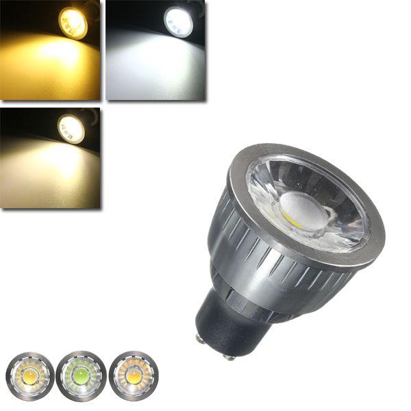 Dimmable 3W LED Ultra Bright GU10 COB LED Spotlight Light Bulb AC110V / 220V