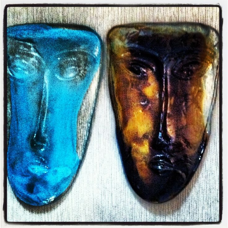 1000+ Images About Fused Glass Mask On Pinterest