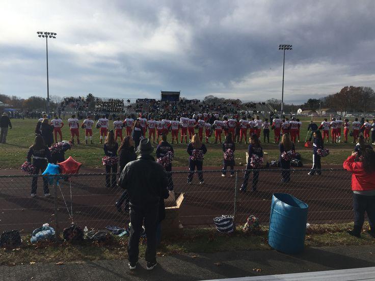 Tollgate vs Pilgrim - Warwick Vets thanksgiving game 11-24-16