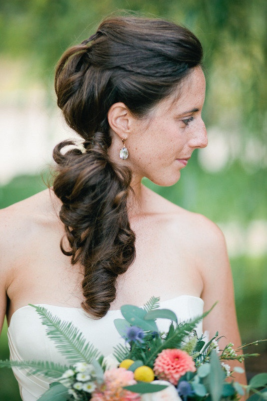 Gorgeous hairstyle ~ Photography by aliciabrownphotography.com