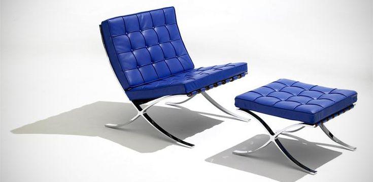 Barcelona chair originale di Knoll Studio, Design Mies van der Rohe