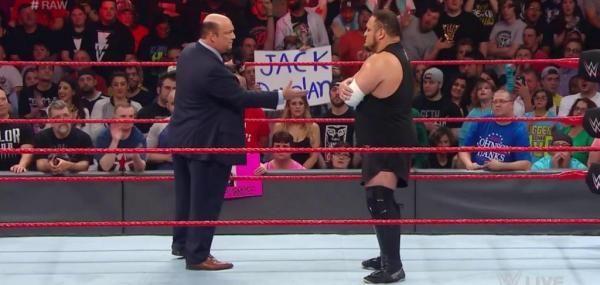 """WWE Raw: Paul Heyman confronts Samoa Joe, The Miz celebrates Sitemize """"WWE Raw: Paul Heyman confronts Samoa Joe, The Miz celebrates"""" konusu eklenmiştir. Detaylar için ziyaret ediniz. http://xjs.us/wwe-raw-paul-heyman-confronts-samoa-joe-the-miz-celebrates.html"""