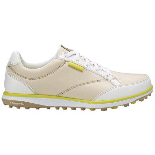 2014 Ashworth Cardiff ADC Spikeless Ladies Leather Golf Shoes Light Khaki 4UK Ashworth http://www.amazon.co.uk/dp/B00IUGTL56/ref=cm_sw_r_pi_dp_H-5tvb1PHH7G9