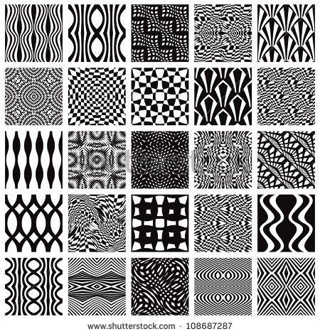Simple Geometric Designs To Draw Google Search Black