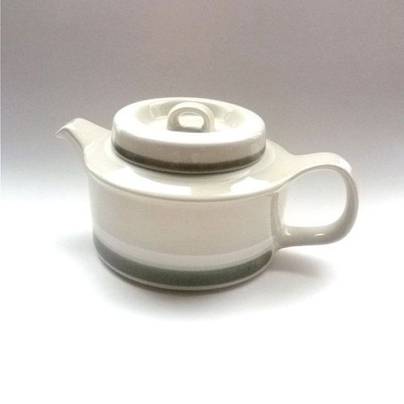Arabia Finland Salla Teapot by FoundVintageStyle on Etsy