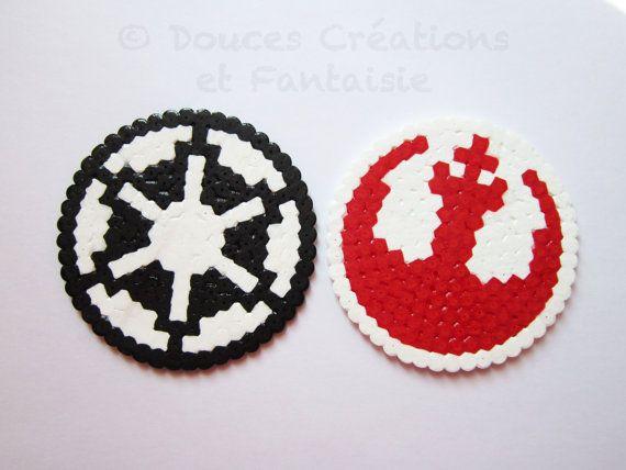 2 Dessous de verre Star Wars alliance rebelle par DoucesCreations