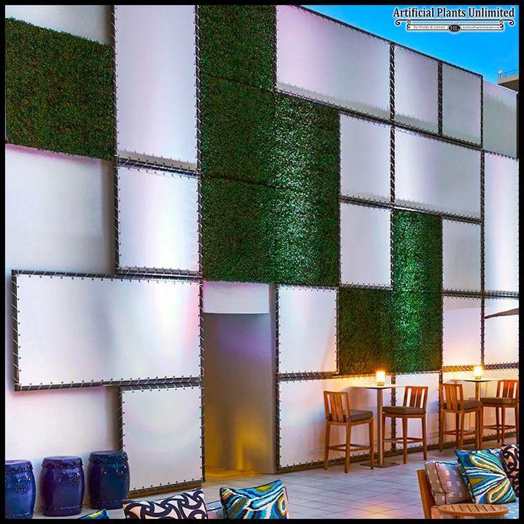 Artificial Green Walls, Outdoor Fake Boxwood Walls, Artificial Ivy Walls