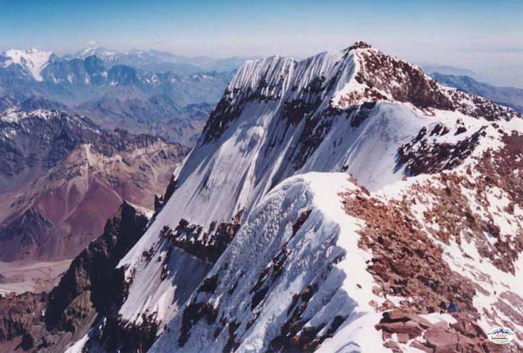 Aconcagua- the highest mountain in the Americas - Argentina