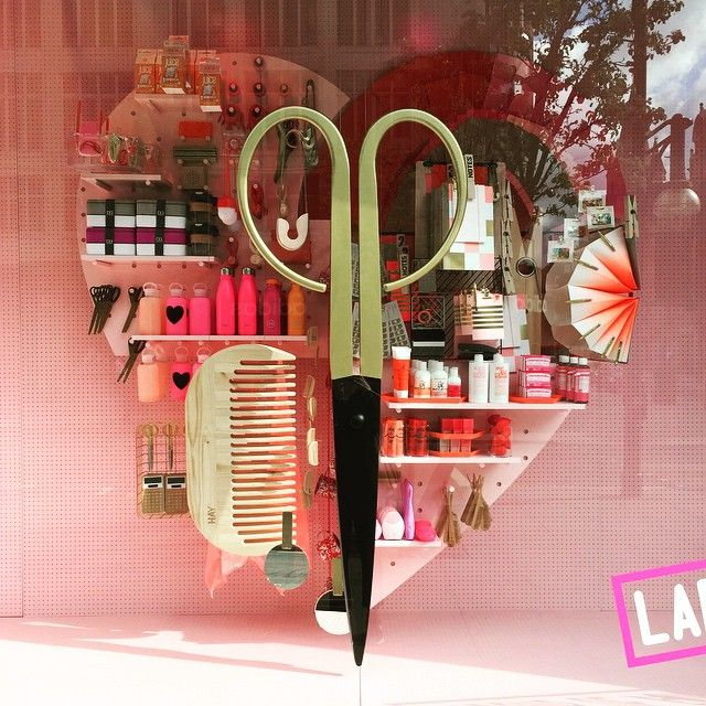 """SELFRIDGES,London,UK, """"The Happiness Project"""",(Beauty is in the eye of the beholder), pinned by Ton van der Veer"""