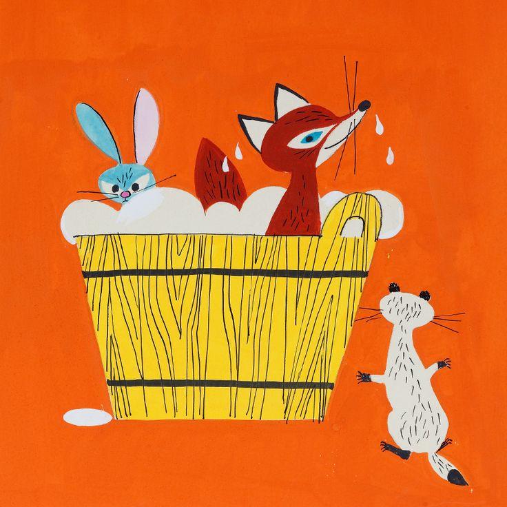 Mosó Masa mosodája, 1968 - F. Györffy Anna