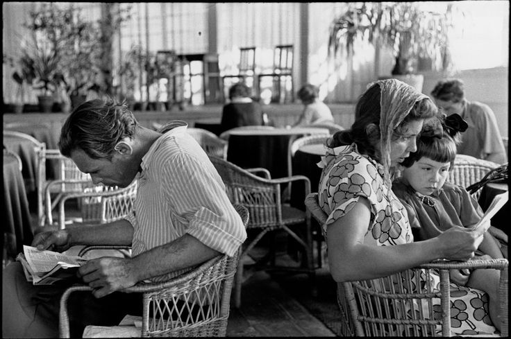 Henri Cartier-Bresson - Moscow. Gorky Park of Culture and Rest. 1954.
