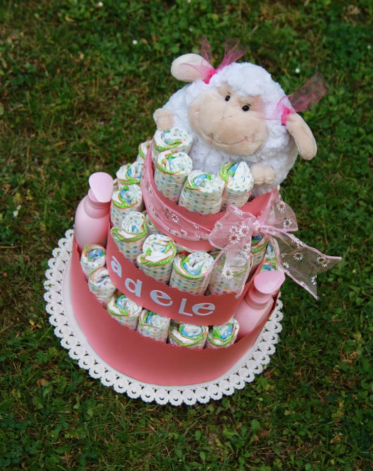torta pannolini pecorella