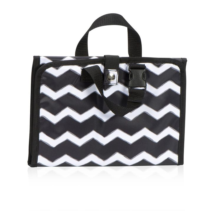 Timeless Beauty Bag In Black Chevron For 25 This Handy