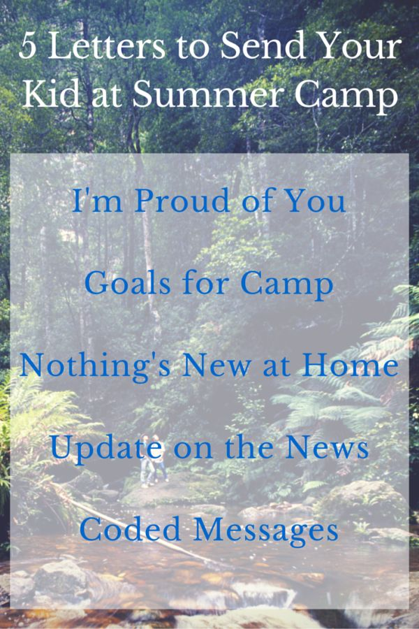 best 25  camp letters ideas on pinterest